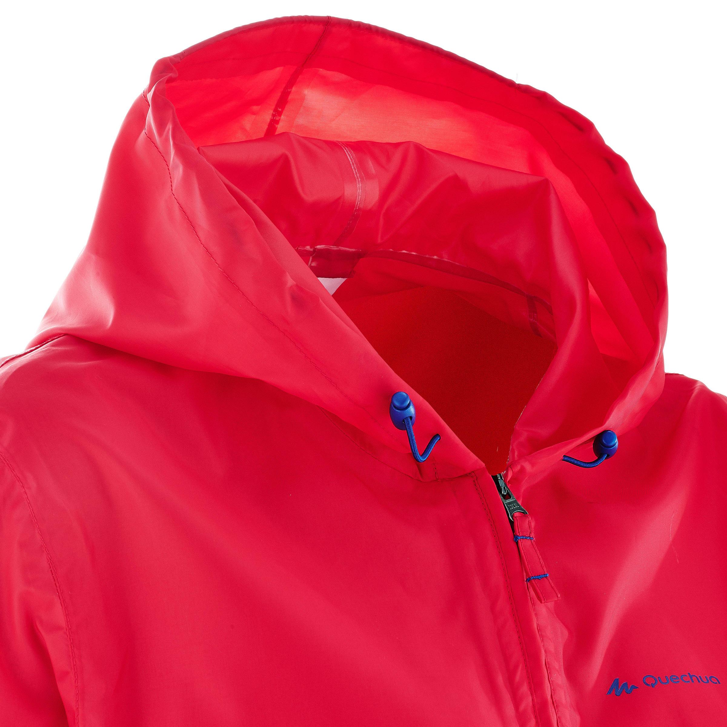 Women's Raincoat NH100 - Pink