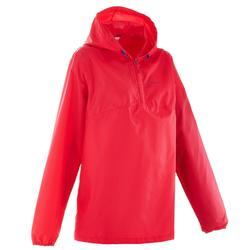 Regenjas voor wandelen Raincut roze dames