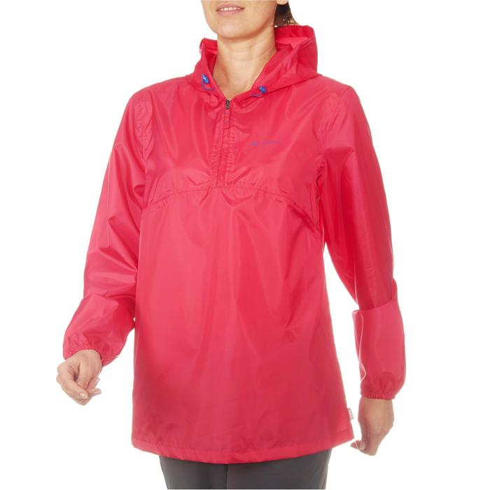 Regenjas dames wandelen Raincut roze