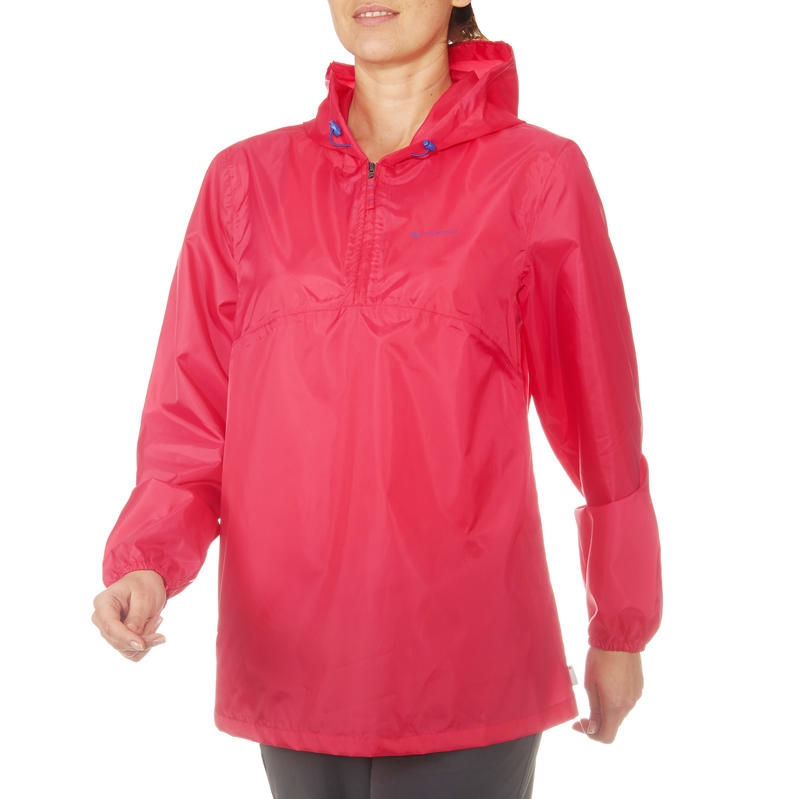 entire collection get new pretty and colorful Women's Raincoat NH100 - Pink