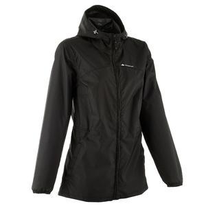 Women's Raincoat (Full Zip) - Black