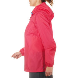 Waterdichte wandeljas voor dames Raincut - 702803