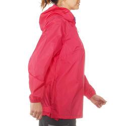 Waterdichte wandeljas voor dames Raincut - 702808