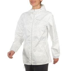 Waterdichte wandeljas voor dames Raincut Zip - 702857