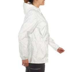 Waterdichte wandeljas voor dames Raincut Zip - 702861