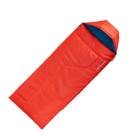 sac de couchage de bivouac randonn e trek enfant forclaz 10 rouge quechua. Black Bedroom Furniture Sets. Home Design Ideas