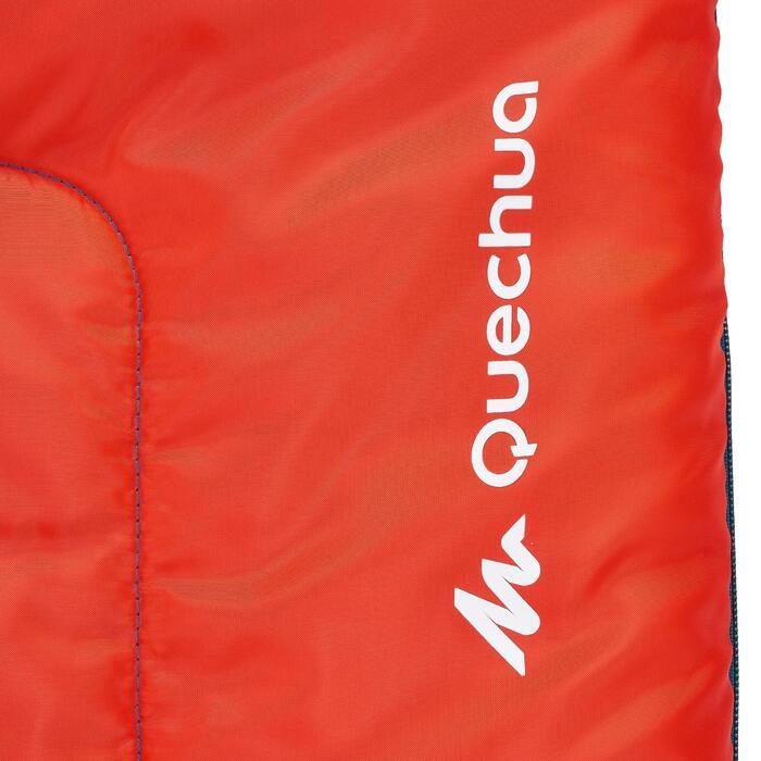 兒童款睡袋FORCLAZ 10°C -紅色