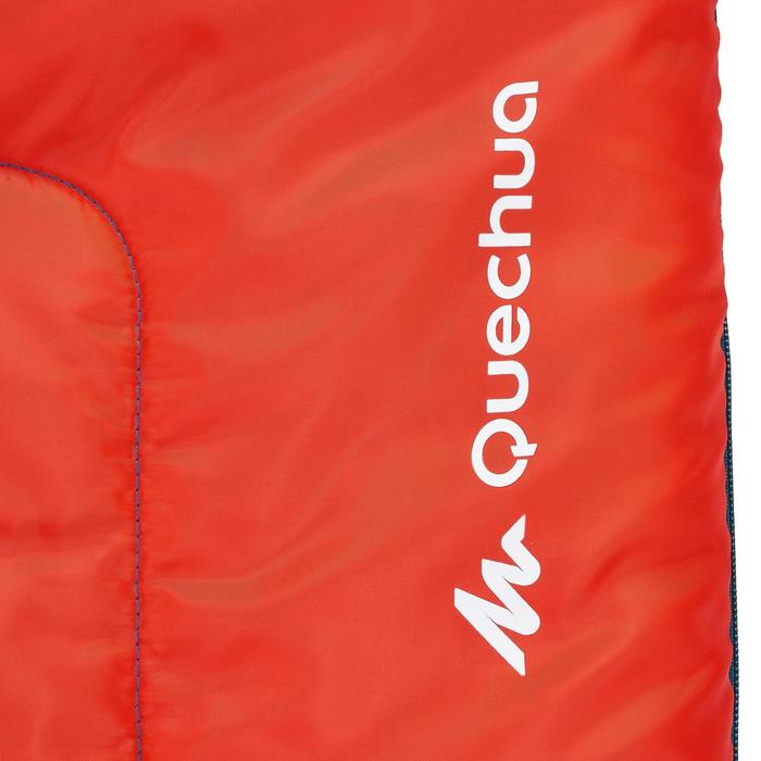 Schlafsack Camping Forclaz 10°C Kinder rot