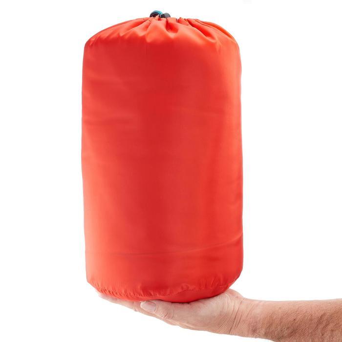Slaapzak voor kinderen Forclaz 10 °C rood