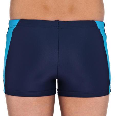 BASICYOKE boys' swim SHORTS - Blue Orange