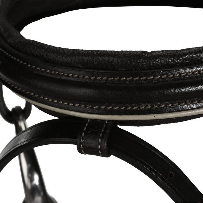Filet + rênes équitation cheval et poney EDIMBURGH noir
