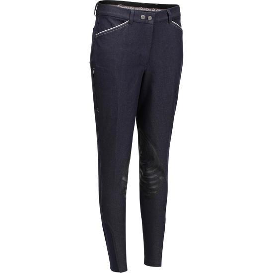 Damesrijbroek Paddock Grippy jeans - 704385
