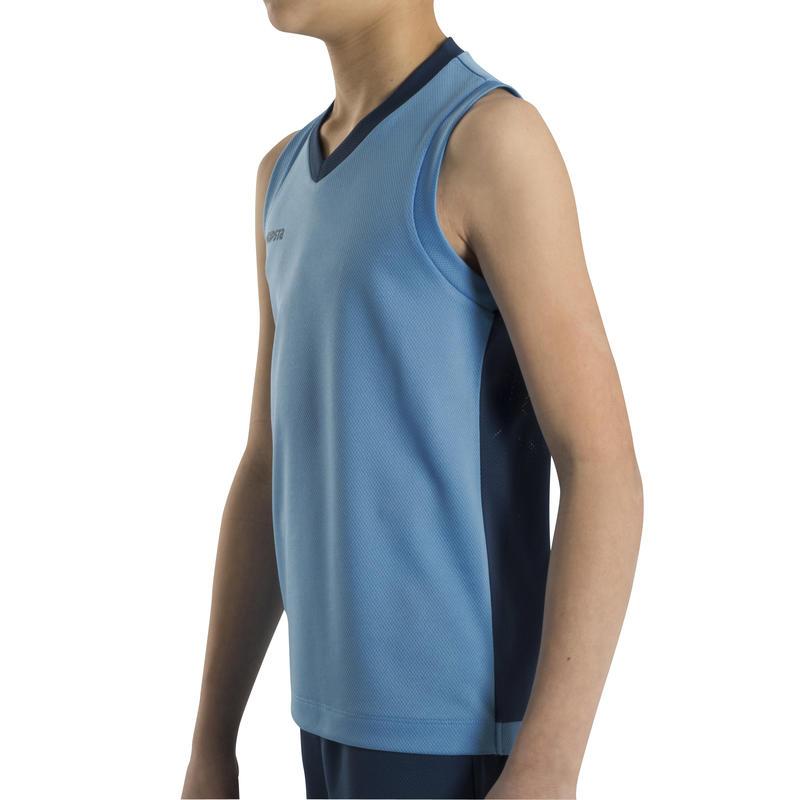 B500 Kids Basketball Jersey - Blue