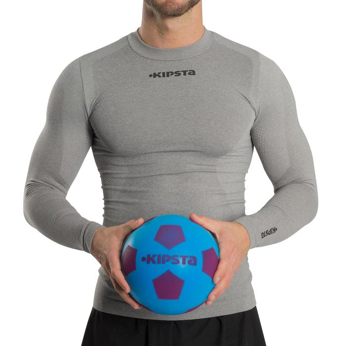Voetbal Foambal 300 maat 5 blauw/paars