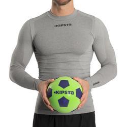 Voetbal Foambal 300 maat 5 groen/blauw
