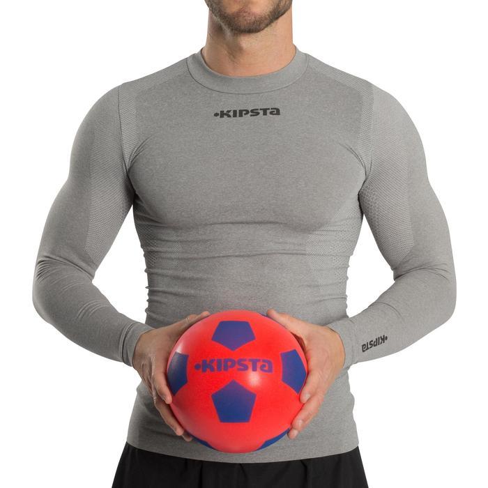 Voetbal Foambal 300 maat 5 rood/blauw