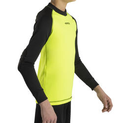 F300 Kids Football Goalkeeper Shirt - Yellow/Black