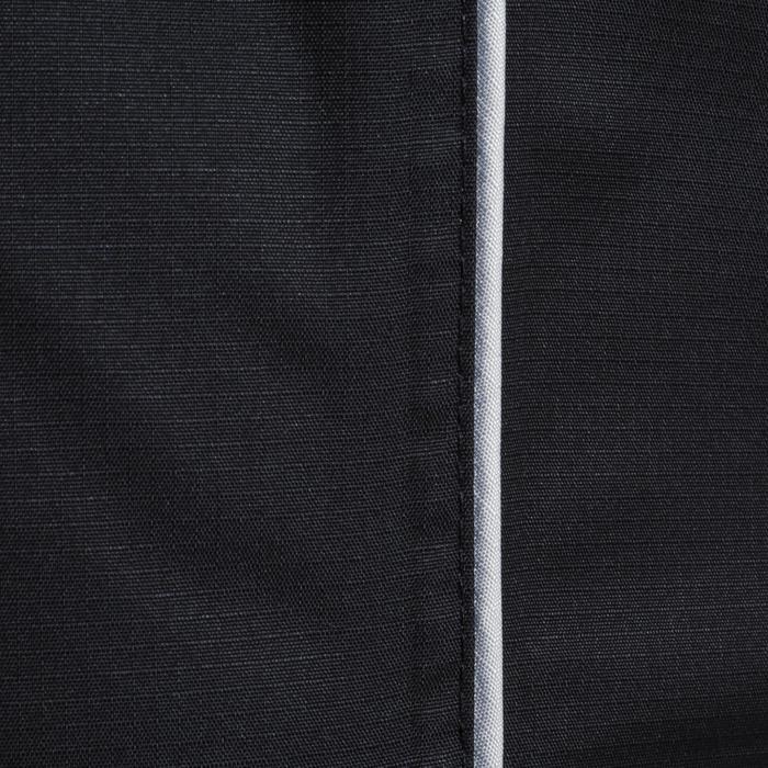 Coupe vent imperméable rugby adulte Smocktop noir