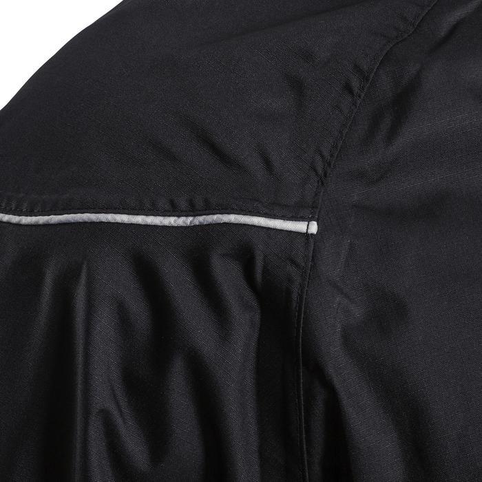 Coupe vent imperméable Smocktop pluie rugby R500 adulte noir
