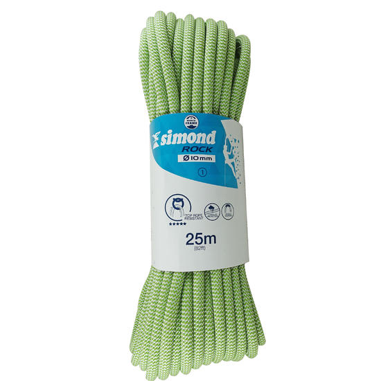 Klimtouw voor indoor klimmen Rock 10 mm x 25 m - 705474