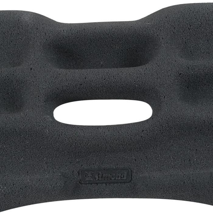 Trainingsbalk voor klimmen Ballsy Board zwart