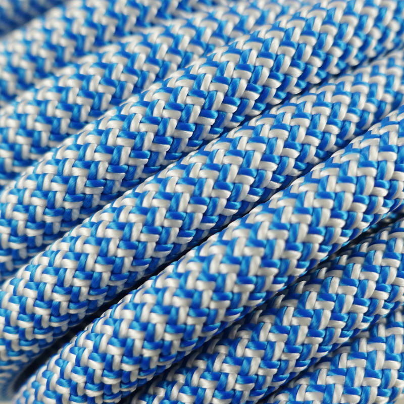 Rock Indoor Climbing Rope - Blue 10 mm x 45 m