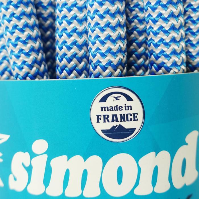 Cuerda de escalada Indoor ROCK 10 mm x 35 m Azul