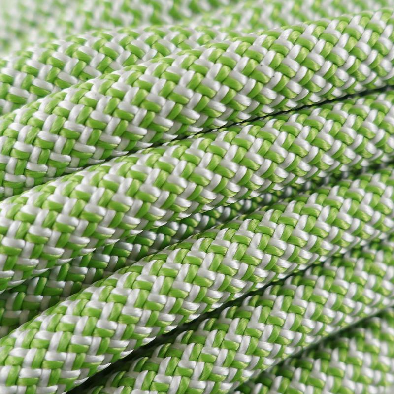 เชือกการปีนผาจำลอง - สีเขียว ขนาด 10 มม. x 35 ม.