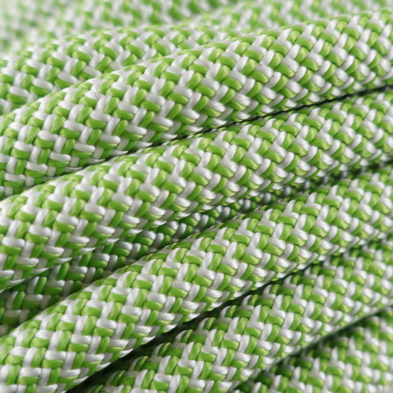 Rock Indoor Climbing Rope - Green 10 mm x 35m