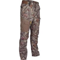 PANTALON CHASSE ACTIKAM 300 CAMOUFLAGE BROWN