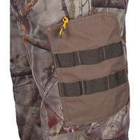 Hunting Breathable Trousers 300 - Woodland Camouflage