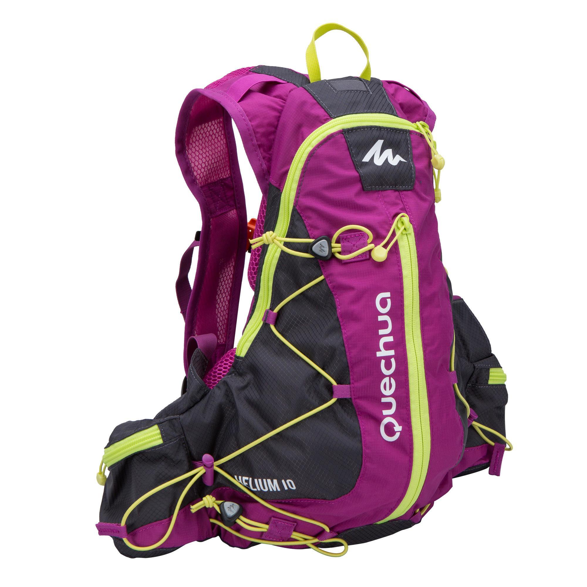 Purple Hiking Backpack Click Backpacks