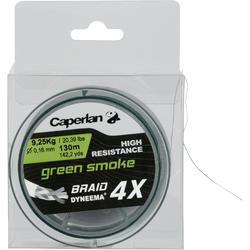 HILO LÍNEA DE PESCA BRAID 4 X GREEN SMOKE 130 m.