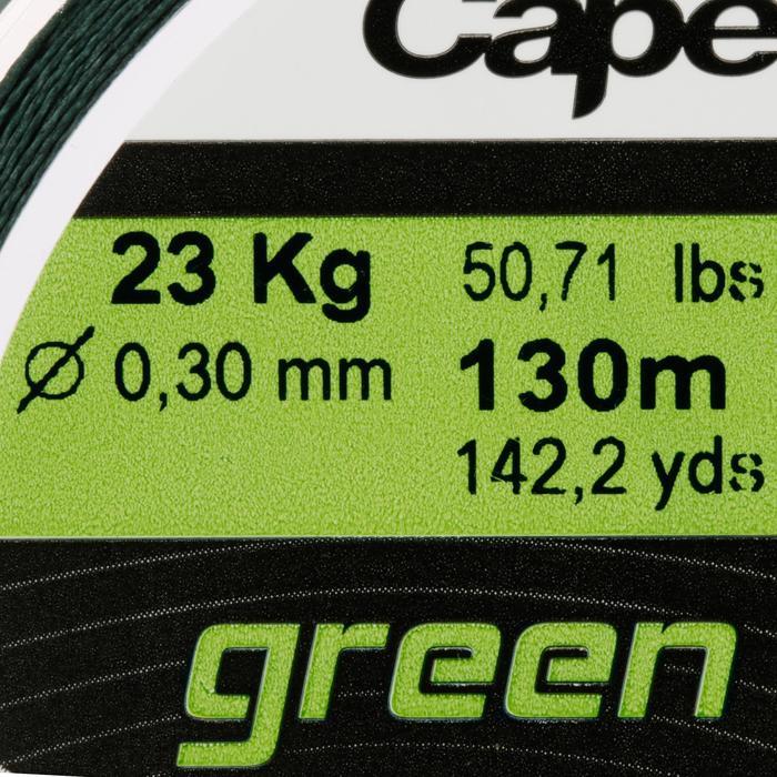 TRESSE BRAID 4X GREEN SMOKE 130 M - 705737