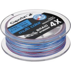 Hauptschnur geflochten TX4 300 mehrfarbig