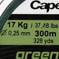 Tresse pêche aux leurres TX4 VERTE 300M verte
