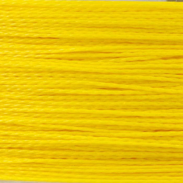 TRESSE PÊCHE BRAID 4X YELLOW 130 M - 705814