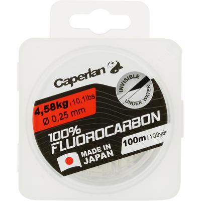 חוט דיג עשוי 100% פחמן-פלואור 100 מטר