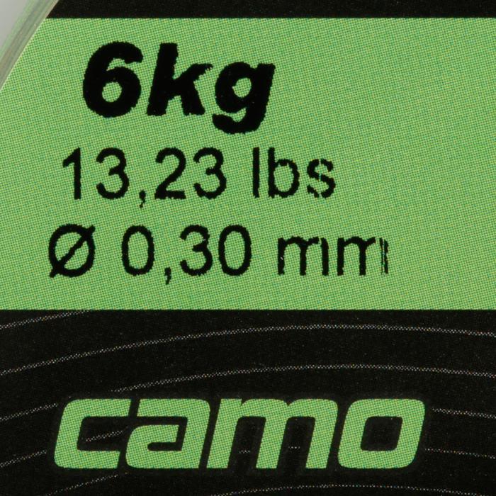 FIL PÊCHE DE LA CARPE LINE ABRASION CAMO 1000 M - 705878