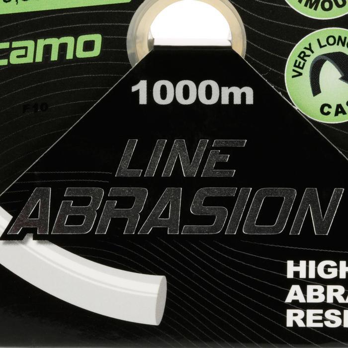 FIL PÊCHE DE LA CARPE LINE ABRASION CAMO 1000 M