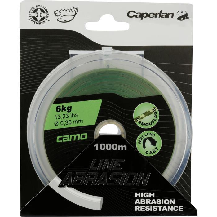 FIL PÊCHE DE LA CARPE LINE ABRASION CAMO 1000 M - 705888