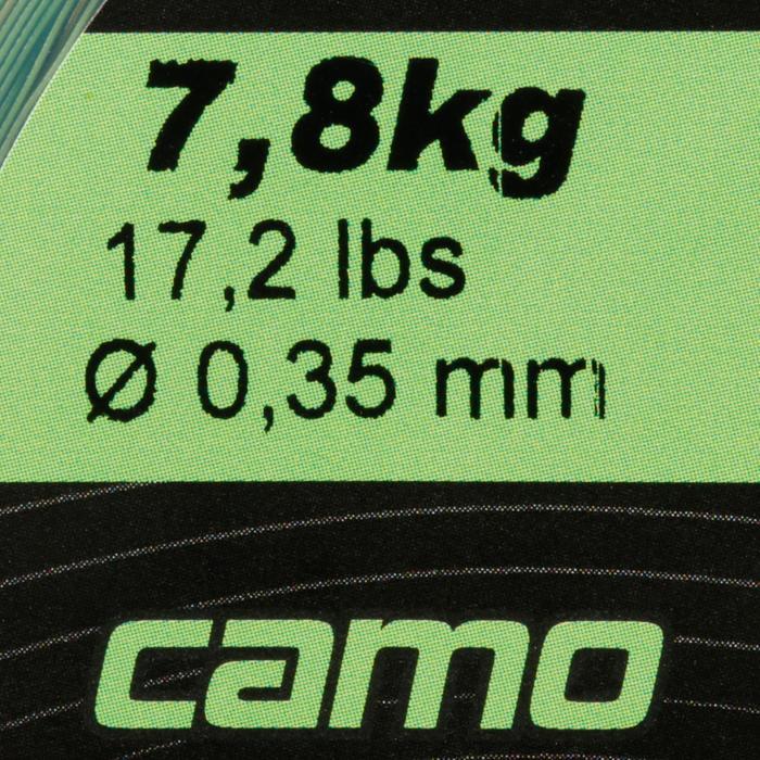 FIL PÊCHE DE LA CARPE LINE ABRASION CAMO 1000 M - 705894