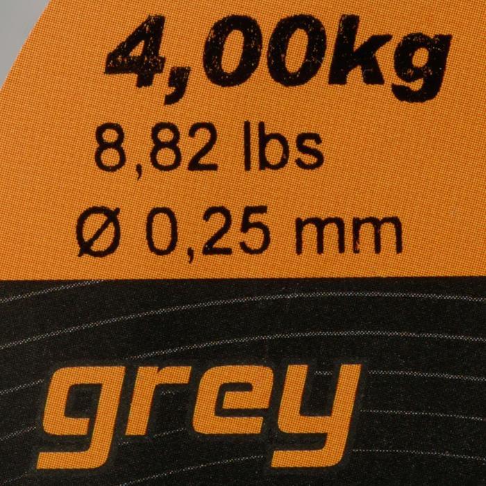 FIL DE PÊCHE LINE ABRASION GREY 500 M - 705897