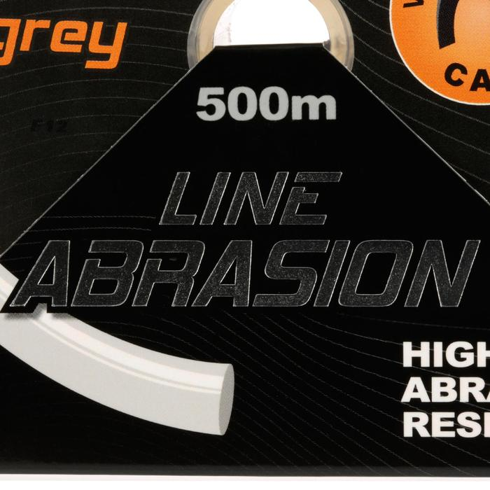FIL DE PÊCHE LINE ABRASION GREY 500 M - 705900