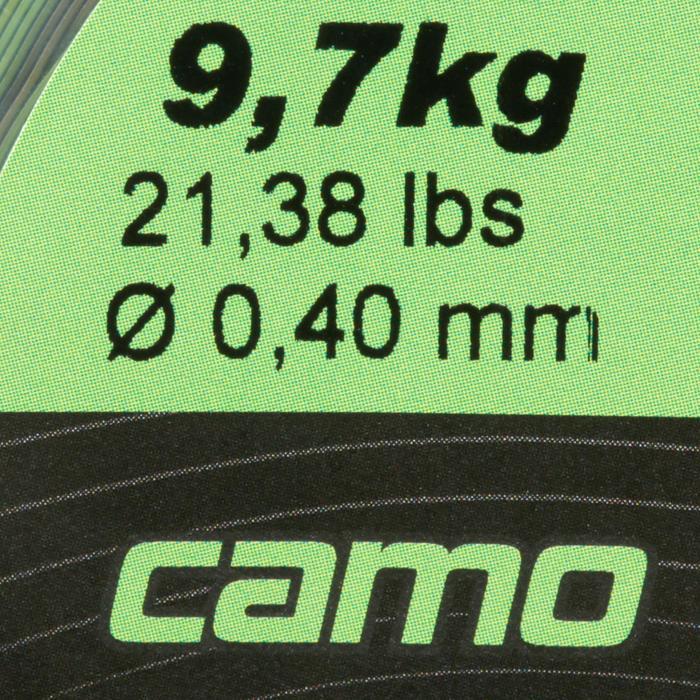 FIL PÊCHE DE LA CARPE LINE ABRASION CAMO 1000 M - 705901