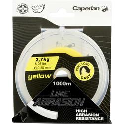 Schuurvaste vislijn geel 1000 m - 705927