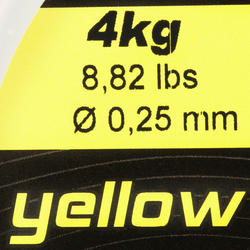Schuurvaste vislijn geel 1000 m - 705934