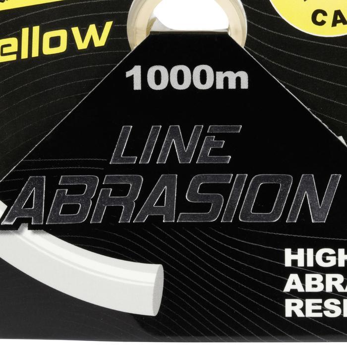 FIL DE PÊCHE LINE ABRASION YELLOW 1000 M - 705937