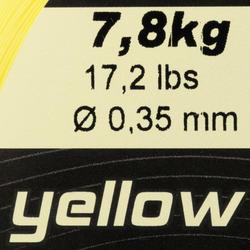 Schuurvaste vislijn geel 1000 m - 705942