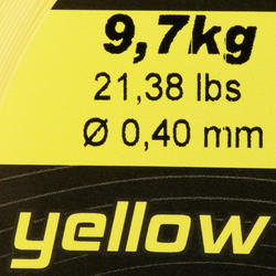 Schuurvaste vislijn geel 1000 m - 705947